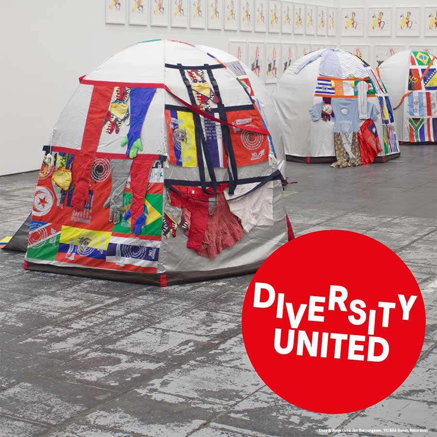 """Ausstellung """"Diversity United"""" – exklusive Kurator*innenführung"""