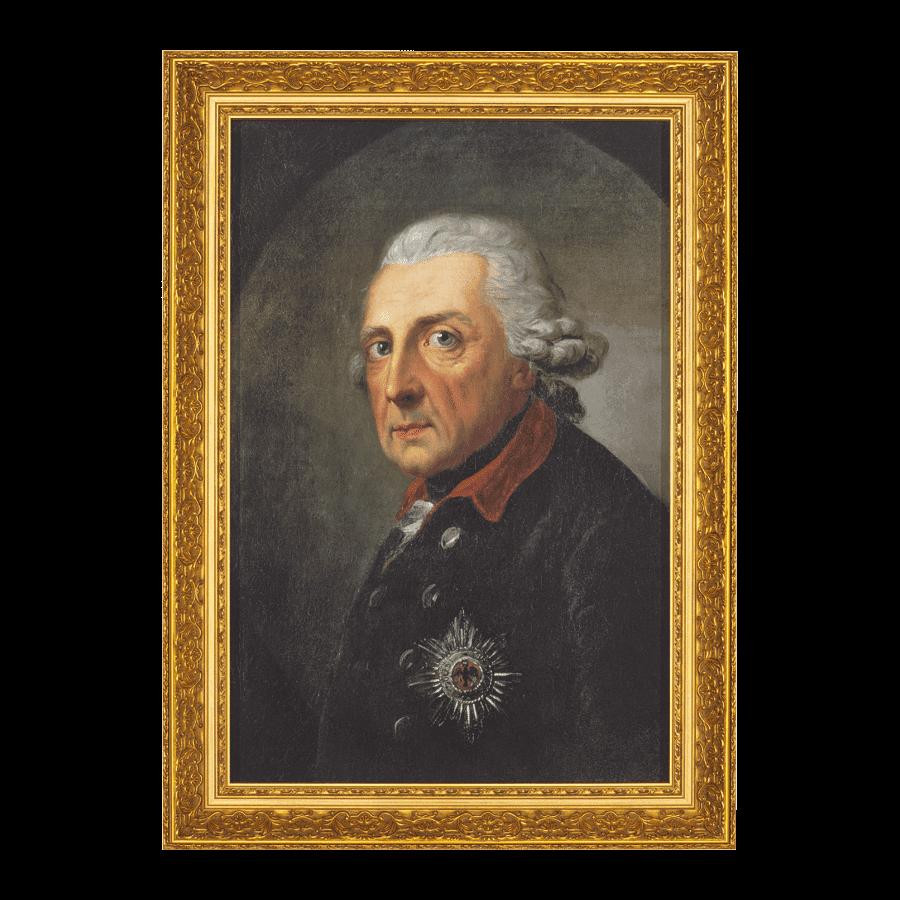 """""""Friedrich der Große, König von Preußen"""" (1781)"""