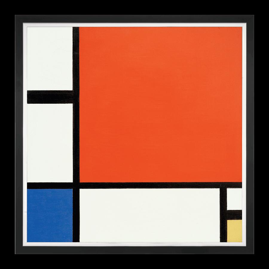 """""""Komposition in Rot, Blau und Gelb"""" (1930)"""