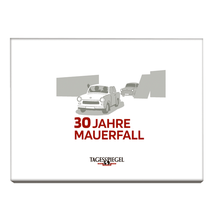 "Tagesspiegel Dokumentation ""30 Jahre Mauerfall"""