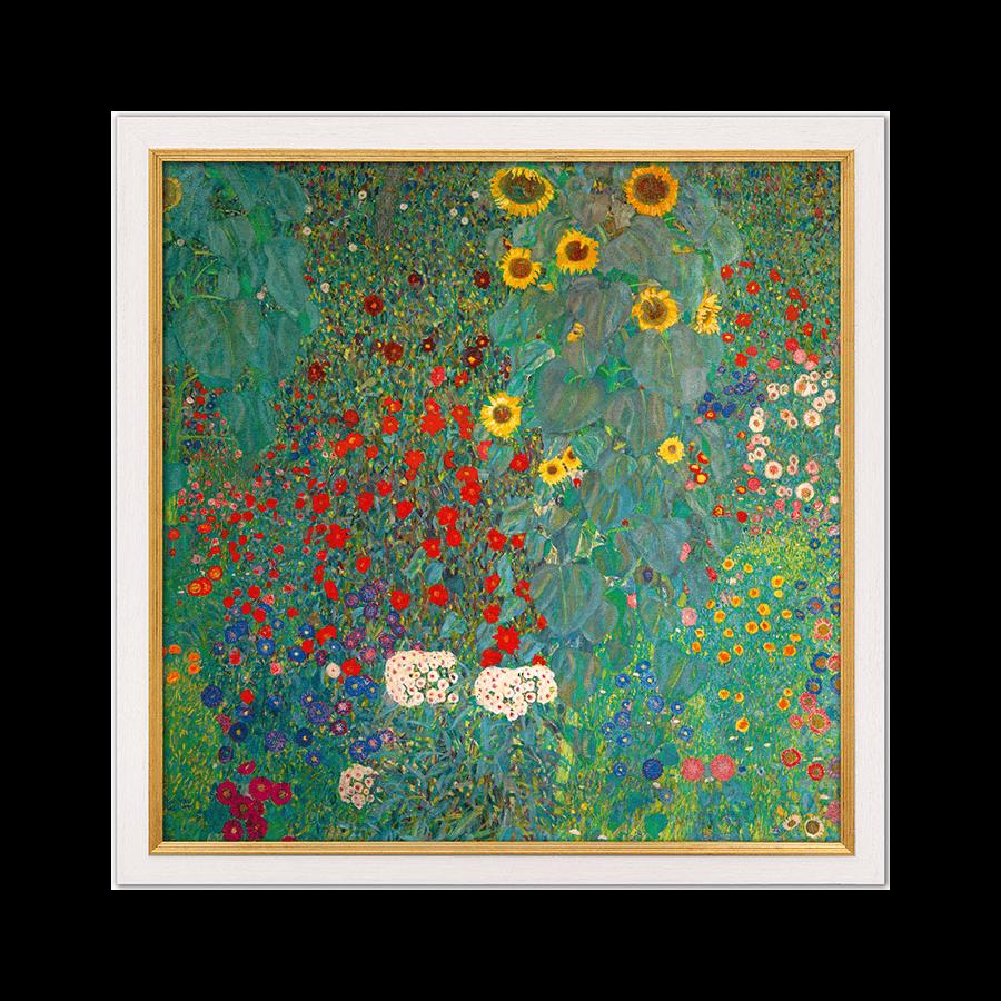 """""""Bauerngarten mit Sonnenblumen"""""""
