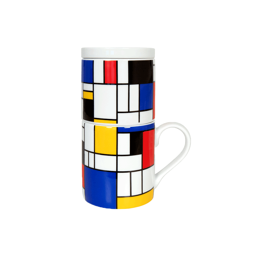 Hommage to Mondrian Small Fragments/ Coffee for One