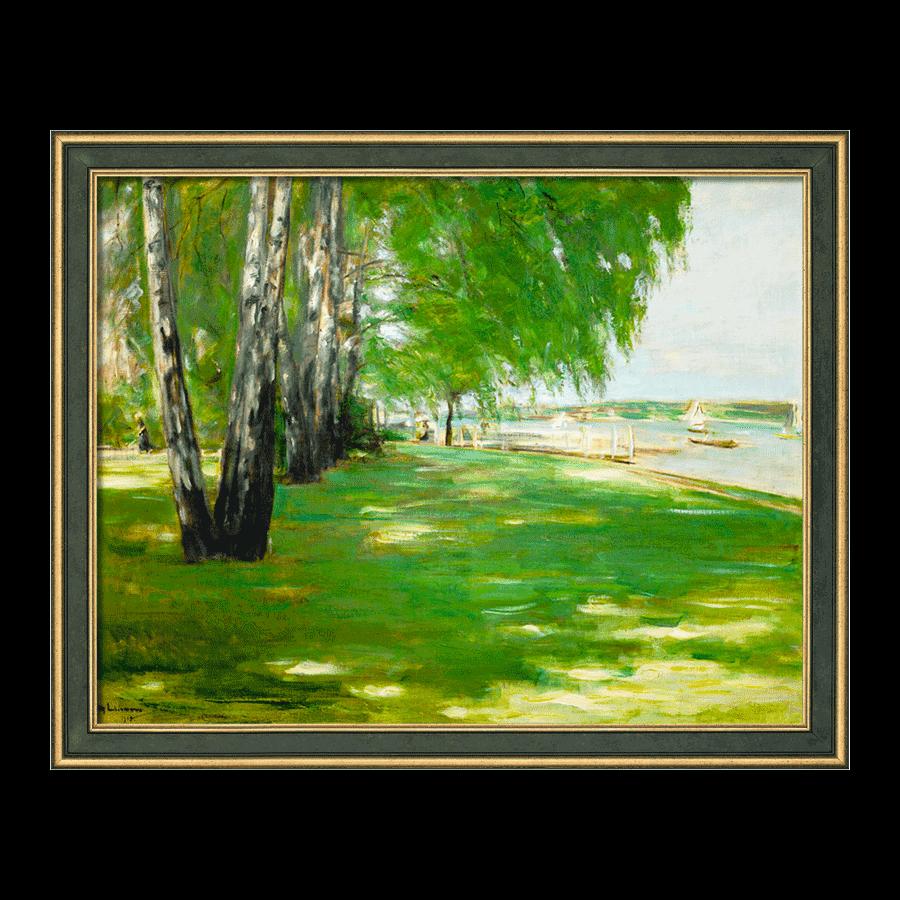 """""""Der Garten des Künstlers am Wannsee"""" (1918)"""