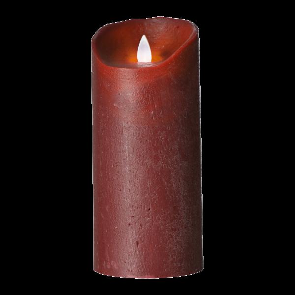 LED-Kerze Echtwachs Flame 18 cm