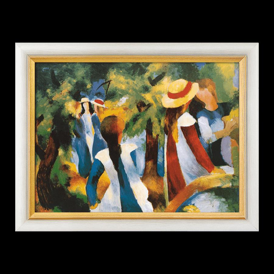 """""""Mädchen unter Bäumen"""" (1914)"""