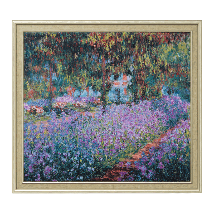 """Irisbeet in Monets Garten"" (1900)"