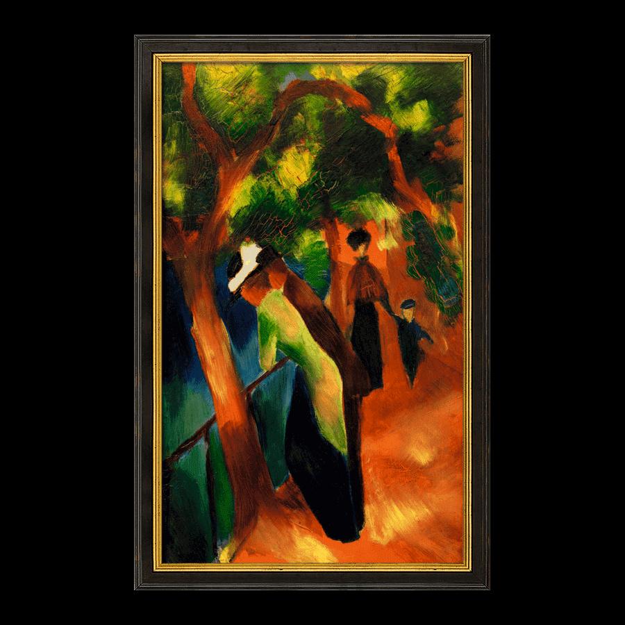 """""""Sonniger Weg"""" (1913)"""