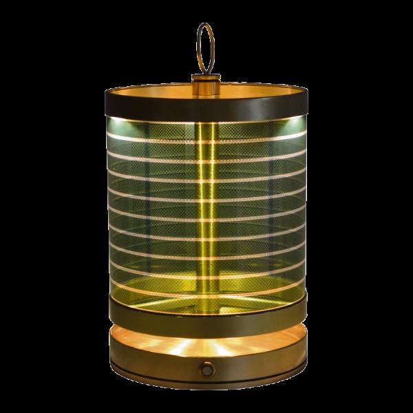 Solar-Tischleuchte Messing