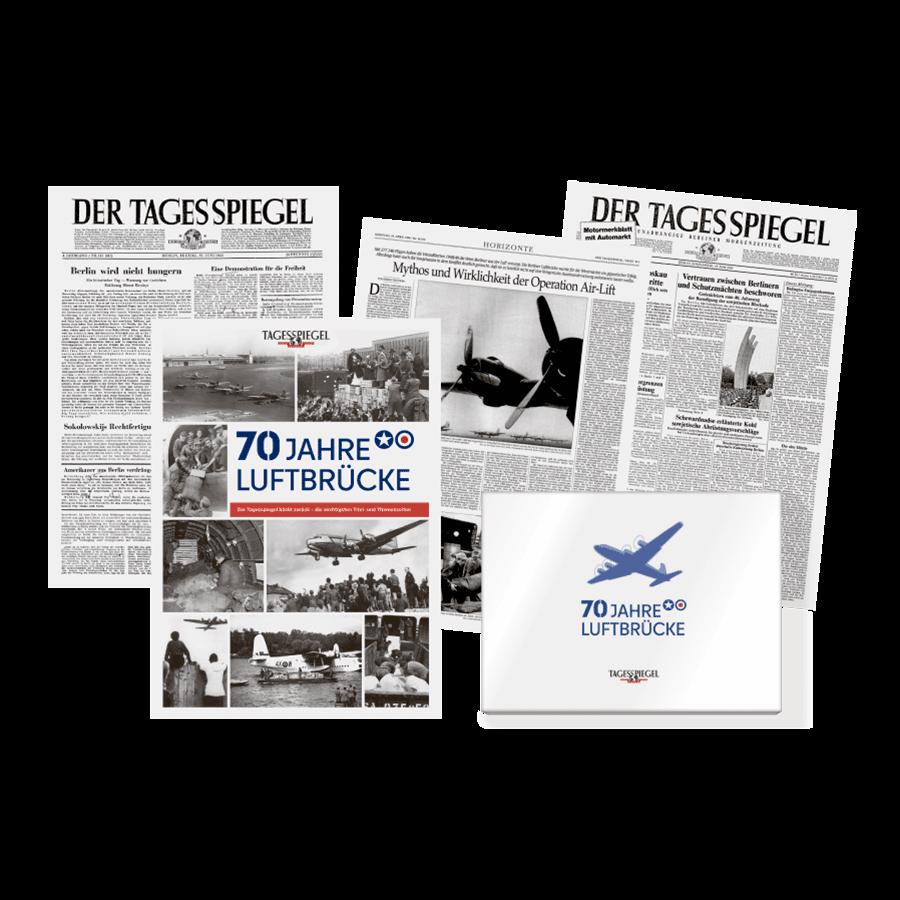 """Tagesspiegel Dokumentation """"70 Jahre Luftbrücke"""""""
