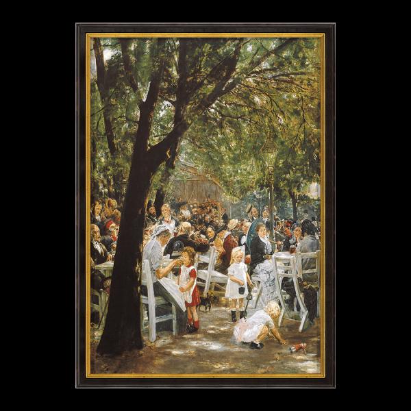 """""""Münchner Biergarten"""" (1884)"""