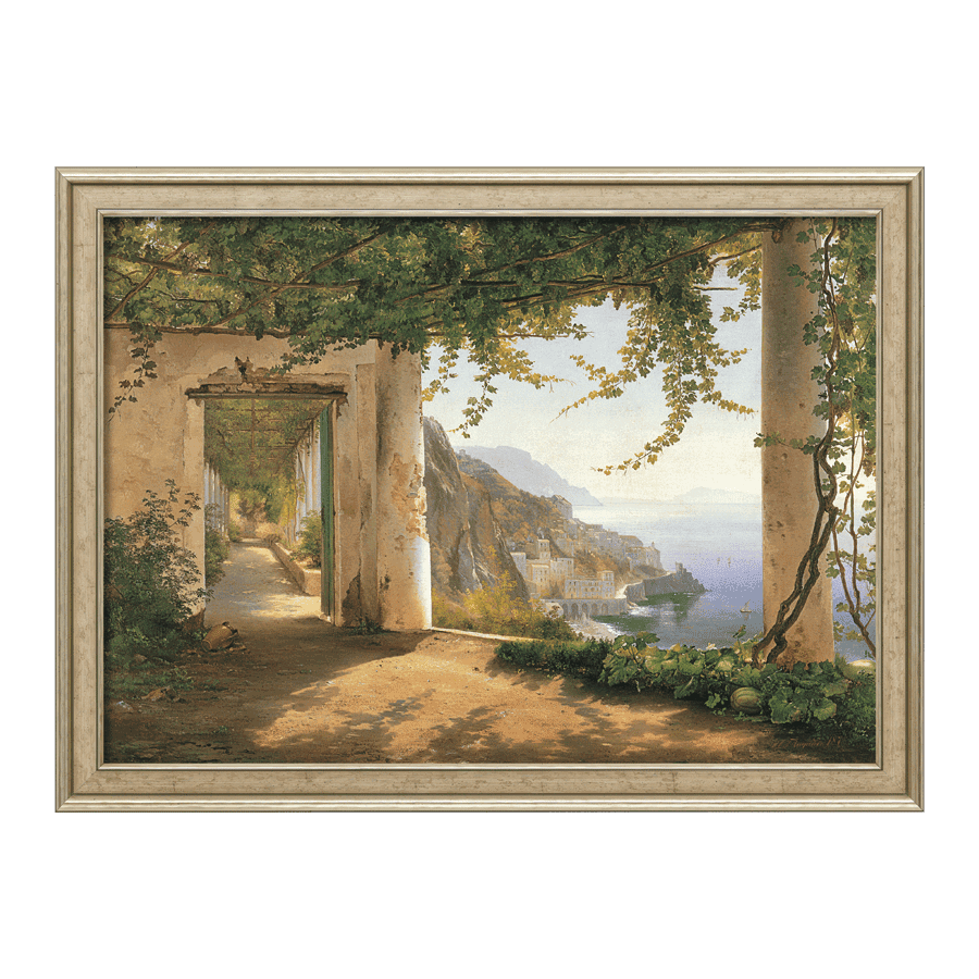"""View to the Amalfi Coast"""