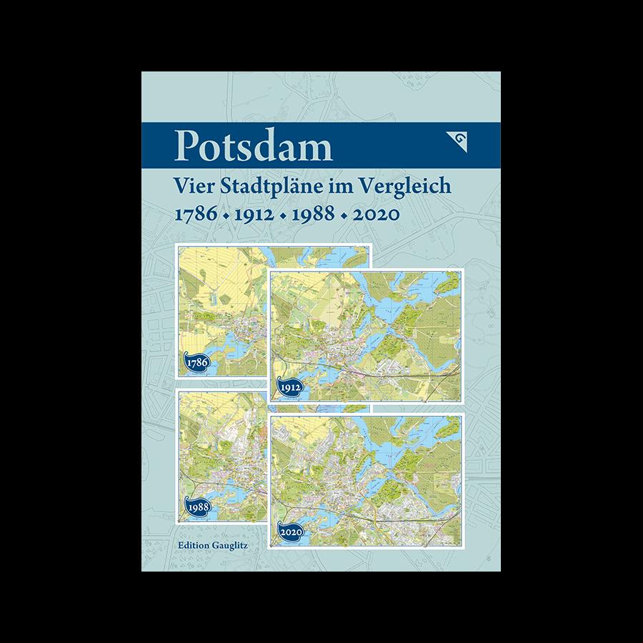Potsdam - Vier Stadtpläne im Vergleich