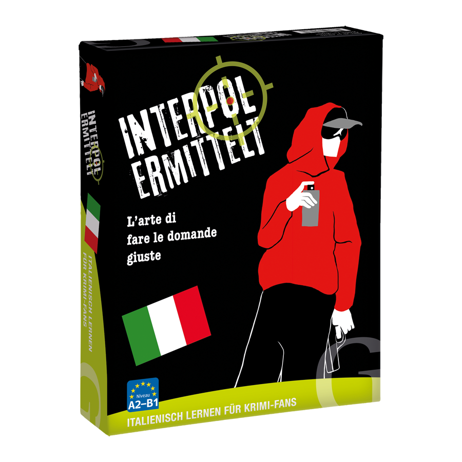 """Sprachlernspiel """"Interpol ermittelt"""" italienisch"""